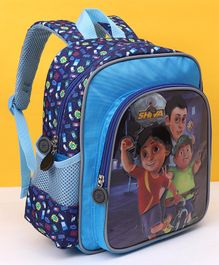 Shiva With Friends School Bag Navy - Height 12 Inches