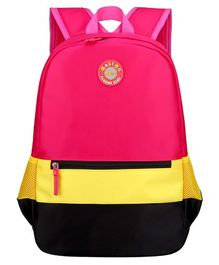 Vismintrend School Bag Pink Pink - Height 18 inches