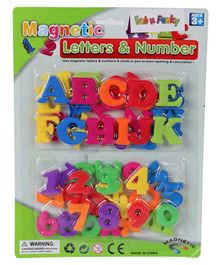 Magnetic Alphabets & Numbers Set - Multicolour
