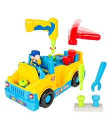 Smartcraft 360 Degree Motion Tool Toy Truck - Yellow