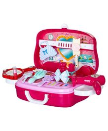Smartcraft Pretend Play Beauty Set Pink - 21 Pieces