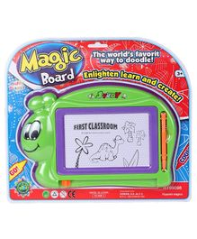 Magic Doodle Board With Pen - Green