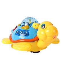 Battery Operated Turtle Projector With Lights & Music (Colour May Vary)