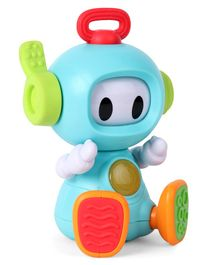 B-Kids Musical Senso Discovery Robot Blue - Height 16 cm