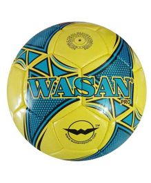 Wasan Pro Football Size 5 With Pump - Yellow
