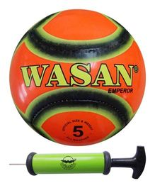 Wasan Emperor Football Size 5 With Pump - Orange