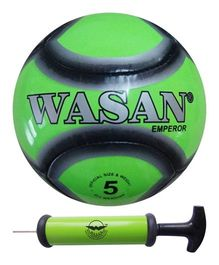 Wasan Emperor Football Size 5 With Pump - Green