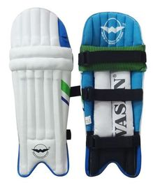 Wasan Cricket Batting Leg Guard - Blue
