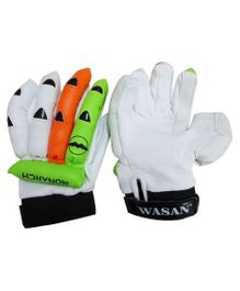 Wasan Cricket Batting Gloves - White