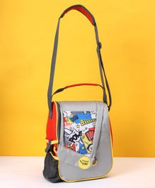 Maped Printed Lunch Bag - Grey