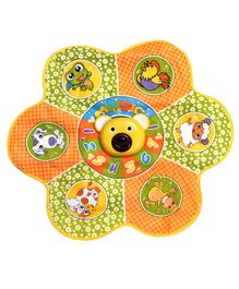Kiddale Baby Musical Carpet Playmat With 6 Animal Sounds - Orange