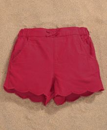 Fox Baby Solid Shorts - Red