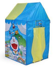 Doraemon Printed Playhouse Tent - Blue