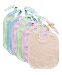 My Newborn Bibs Pack of 6 - Multicolour