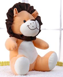 Play Toons Lion Soft Toy Peach - Height 25 cm
