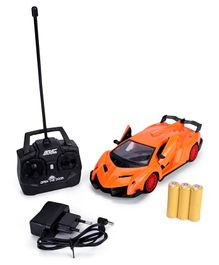 RC Car With Charger - Orange