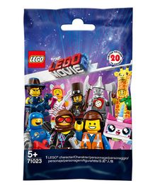 Lego The Movie 2 Building Blocks Set Multicolour - 7 Pieces