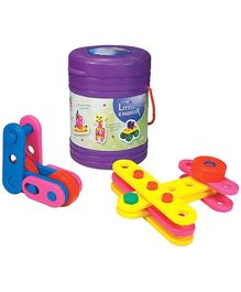 Girnar Little Engineer - Set Of 79 Pieces