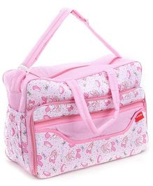 Sapphire Diaper Bag Teddy Print (Color May Vary)