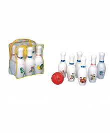 Jana Bowling Time Bowling Set White - 7 Pieces