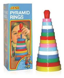 Jana Pyramid Rings - Multicolor