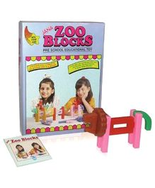 Jana Zoo Blocks Pre - School Educational Toy
