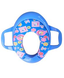 Sunbaby Ultra Soft Potty Seat With Handles - Ocean Blue