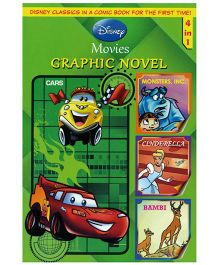 Shree Book Centre Disney Movies Graphic Novel 4 In 1 - English