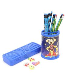 Mr. Clean Stationery Set - Blue