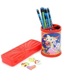 Mr. Clean Stationery Set - Red