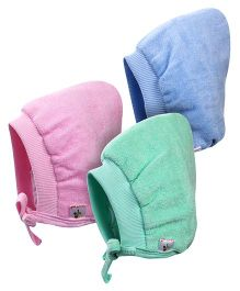 Tinycare Bonnet Style Cap Small - Set Of 3
