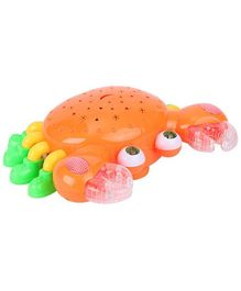 Kumar Toys Flash Electric Crab - Orange