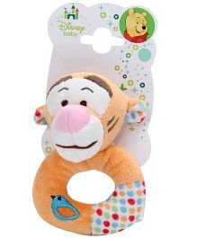 Disney Tigger Ring Rattle - Yellow