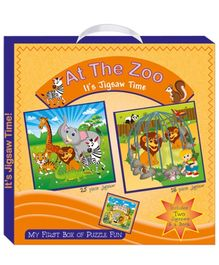Art Factory At the Zoo My First Box of Puzzle Fun