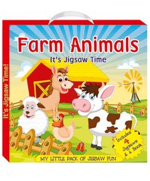 Art Factory Farm Animals My Little Pack of Jigsaw Puzzle)