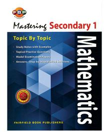 Fairfield Book Publisher Mastering Mathematics Topic by Topic Secondary 1