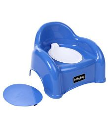 Babyhug  2 in 1 Baby Potty Seat Cum Chair - Blue