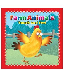 Farm Animals Touch And Feel Boardbook - English