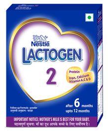 Nestle Lactogen 2 Follow-Up Formula Powder - After 6 months Stage 2 400 gm