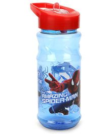 Marvel Spider Man Sipper Water Bottle Blue