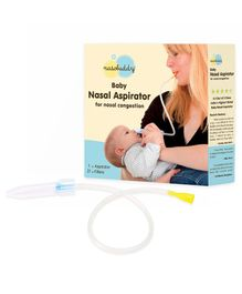 Nasobuddy Nasal Aspirator - White And Yellow