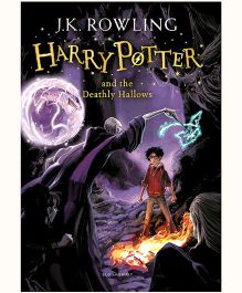 Harry Potter and the Deathly Hallows New Jacket - English