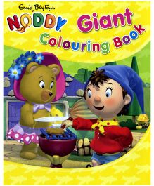 Noddy Giant Colouring Book Yellow - English