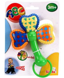 ABC Teething And Rattle Twister - Multi Colour