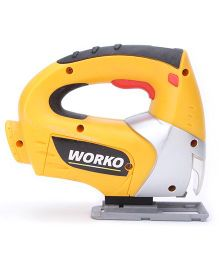 Smoby Worko Jigsaw - Yellow