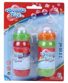 Simba Bubble Gun Solution - Pack Of 2