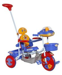 Mee Mee 2 in 1 Baby Tricycle and Rocker - Blue