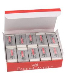 Faber Castell Dust Free Erasers - 20 Pieces