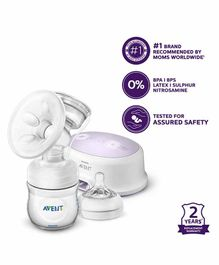 Avent Single Electric Breast Pump With PP Storage Cup - SCF332