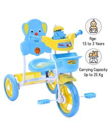 Babyhug Musical Froggy Tricycle - Blue